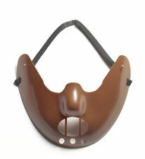 RESTRAINT MASK PSYCHO SILENCE OF THE LAMBS HANNIBAL INMATE COSTUME ACCESSORY