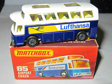 Matchbox Superfast 65 AIRPORT COACH 'LUFTHANSA' - MIB
