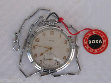 ANTIQUE  Vintage RARE NEW Swiss  Pocket Watch DOXA Artt Deco style 1930's