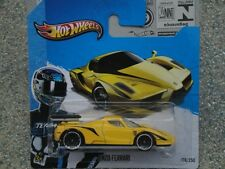 HOT WHEELS 2013 #178/250 ENZO FERRARI GIALLO con nero FLASH HW showroom