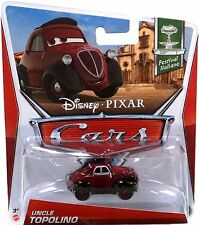 DISNEY PIXAR CARS UNCLE TOPOLINO FESTIVAL ITALIANO *NEW*