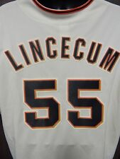 Tim Lincecum San Francisco Giants Majestic #55 Jersey Size XX-Large