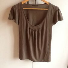 New And Unworn Armand Basi Brown Top - Size S
