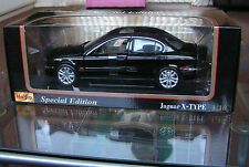 Jaguar X Type  BLACK   ... MEGA RARE  1/18 scale  Maisto