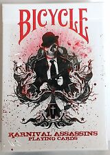 Karnival Assasins Red Deck Bicycle Playing Cards Big Blind Media Sam Hayles