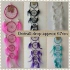 Dream catcher  67cm overall drop  DCAP1