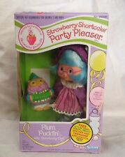 Vintage Strawberry Shortcake Plum Pudding Puddin' Party Pleaser Doll Owl In Box
