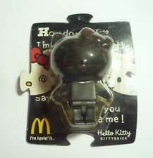 McDONALDS Collectable HELLO KITTY KITTYBRICK Black Toy MINT 2006 Hong Kong