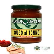 Sugo al Tonno, specialità artigianale siciliana - Condiquattro