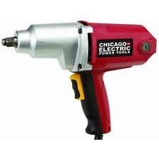 """Chicago Electric 1/2"""" Heavy Duty Electric Impact Wrench Driver High Power 7 Amp"""