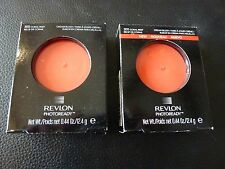 Revlon PhotoReady Cream (Creme) Blush - CORAL REEF #300 - TWO Brand New / Sealed