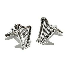 Harmony Cufflinks Instrument Musical Strings Musician Harmony + Box & Cleaner