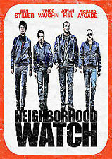 The Watch [DVD], Good DVD, Rosemarie DeWitt, Richard Ayoade, Jonah Hill, Vince V