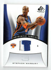 STEPHON MARBURY NBA 2006-07 SP GAME USED PATCHES (KNICKS) #02/25 RARE
