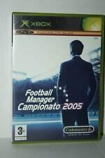FOOTBALL MANAGER CAMPIONATO 2005 USATO OTTIMO XBOX ED ITALIANA PAL FR1 41747