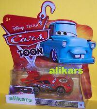 T - DRAGON  McQueen with Oil Stains -#11 Disney Cars Toons Tokyo Toon Tall Tales