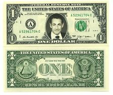 NICOLAS SARKOZY - VRAI BILLET 1 DOLLAR US ! Collection Président France UMP RPR
