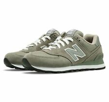 WOMENS NEW BALANCE W 574 GS in colors GREY / BLACK SIZE 8