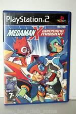 MEGAMAN X COMMAND MISSION GIOCO USATO OTTIMO PS2 ED ITALIANA GIOCO INGLESE FR1