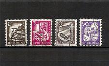 ROMANIA 1960, minicollezione 4v, usati (pha039)