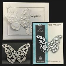 Memory Box Dies LYDIA BUTTERFLY die 99089 Animals,insects,swirls