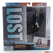 "Lost ABC TV series Jack Shephard 6"" figure props sounds McFarlane Toys worn box"