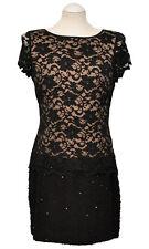 JOSEPH RIBKOFF Kleid 151576 Gr. 44 Luxus NP: 349,95€ Damen Dress LDS NEU SCHWARZ