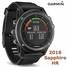 Garmin Fenix 3 Sapphire HR GPS Watch Heart Rate Monitor Cycling Bike HRM Running