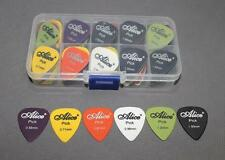 Great 25pcs Acoustic Electric Guitar Picks Plectrums+Pick bag Assorted Thickness