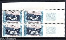FRANCE 1954 1000fr Provence v. fine MINT margin block of 4 never hinged SG 1197