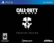 Call of Duty: Ghosts -- Prestige Edition Sony PlayStation 4 BRAND NEW FREE SHIP