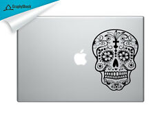 Day of the Dead Sugar Skull Mac Decal Laptop Sticker Mac Decals for 13 15 17 in