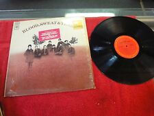 Blood, Sweat & Tears Columbia Records Vinyl LP And when I die Spinning wheel ++