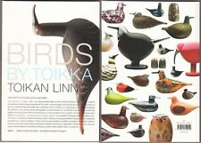 Birds By Oiva Toikka Book Including Special Birds & Cubes Color Pictures Finland