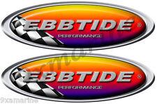 Ebbtide Boat Oval Decal Racing Set - Name Plate