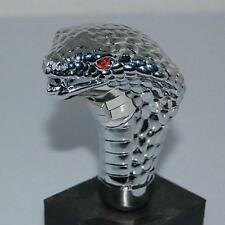 Popular Universal Chrome LED Car Cobra Wave Manual Gear Shift Knob Snake Shifter