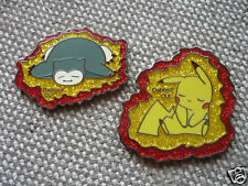 """10 Pack of """"Dabbed Out Pokemon"""" Pins FREE SHIPPING (Heady Dab Weed Hat Pins)"""