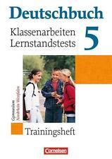Deutschbuch Trainingsheft Klassenarbeiten 5. Klasse (Gymnasium NRW)