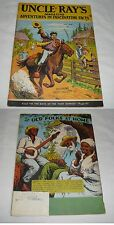 May 1949 UNCLE RAY'S MAGAZINE V.4 #5 ~ Pony Express, Leeches, Manatees