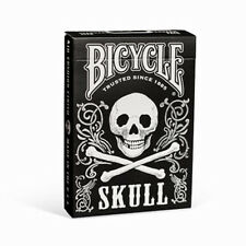 Bicycle® Skull Back Deck Playing Cards Classic Design Morbidly Appealing New