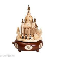 Spieldose / Spieluhr Dresdener Frauenkirche Dresden 22cm Fa. Zeidler Erzgebirge