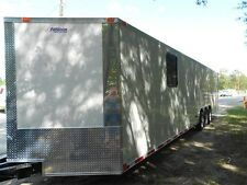 34' 2 car hauler/cargo trailer enclosed 34' Plus V-NOSE   2016