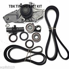 Acura MDX V6 2003-2009 Complete Timing Kit Water Pump with Mitsuboshi Belts