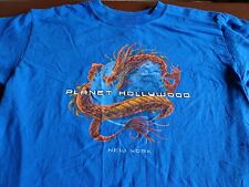 Planet Hollywood New York Dragon Design  T Tee Shirt Medium   R9