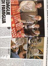 SP18 Clipping-Ritaglio 1993 Damiano Colombo Medaglie di famiglia
