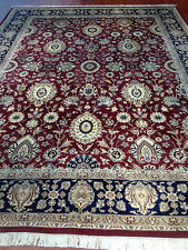 oriental  persian afghan carpet rug 100% handknotted pure wool  pile collectable