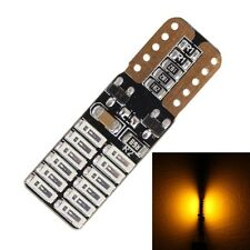 2PCS T10 4.8W 720LM Yellow Light 24 SMD 4014 LED Error-Free Canbus Car Clearance