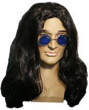 1960's-1970's-HIPPY-ROCKER-Dracula Spectacles & Wig Set-Costume Accessory