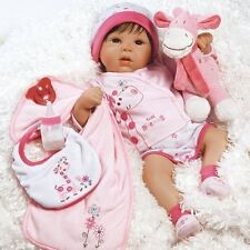 Realistic Handmade Baby Doll Girl Newborn Lifelike Vinyl Weighted Alive Reborn