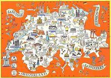 BC60137 Maps Cartes geographiques Suisses Schweiz